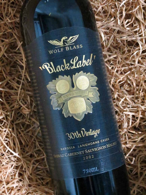 [SOLD-OUT] Wolf Blass Black Label 2002