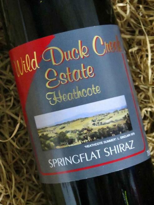 [SOLD-OUT] Wild Duck Creek Springflat Shiraz 2004