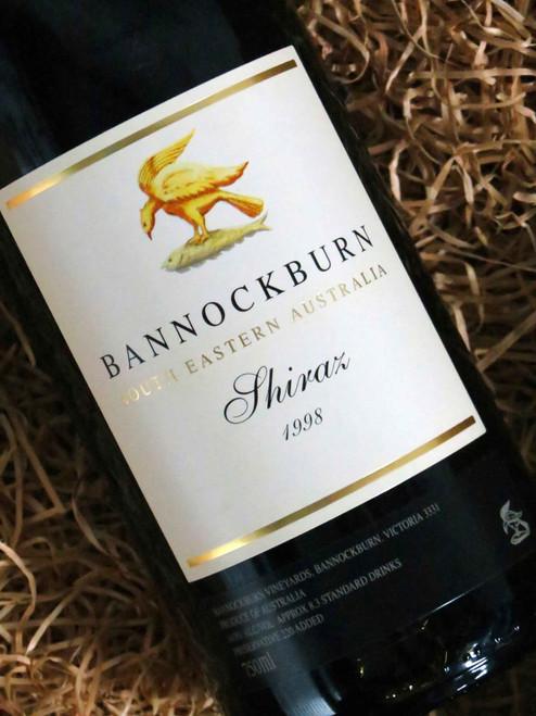 [SOLD-OUT] Bannockburn Shiraz 1998