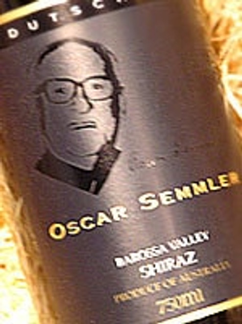 Dutschke Oscar Semmler Shiraz 2001