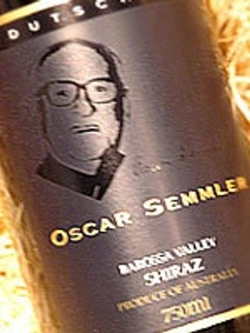 Dutschke Oscar Semmler Shiraz 2002