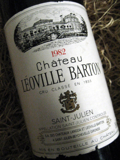 Chateau Leoville-Barton 1982 (Very High Shoulder Level)