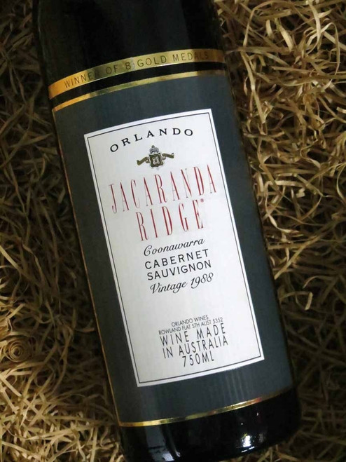 [SOLD-OUT] Orlando Jacaranda Ridge Cabernet Sauvignon 1988