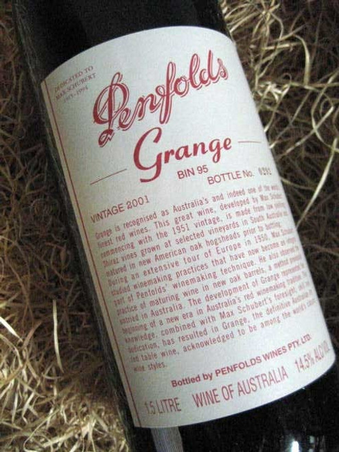 Penfolds Grange 2001 1500mL