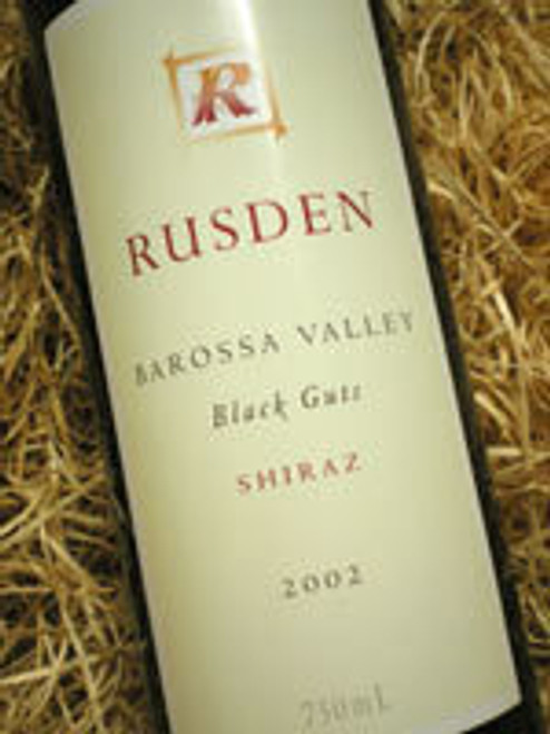 Rusden Black Guts Shiraz 2002