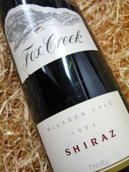 [SOLD-OUT] Fox Creek Reserve Shiraz 1994