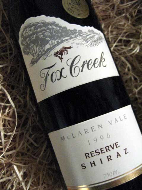 Fox Creek Reserve Shiraz 1996