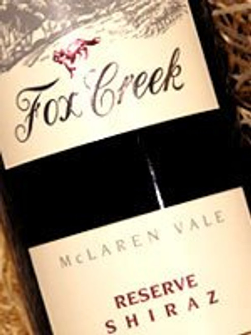 Fox Creek Reserve Shiraz 1997
