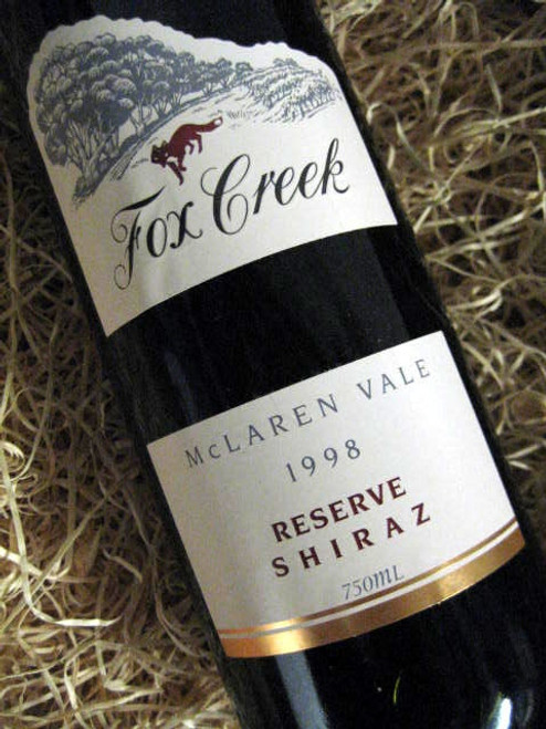 Fox Creek Reserve Shiraz 1998