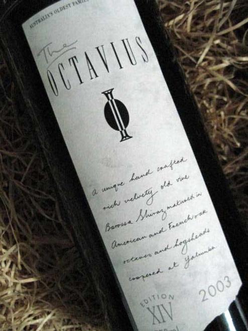 Yalumba Octavius Shiraz 2003