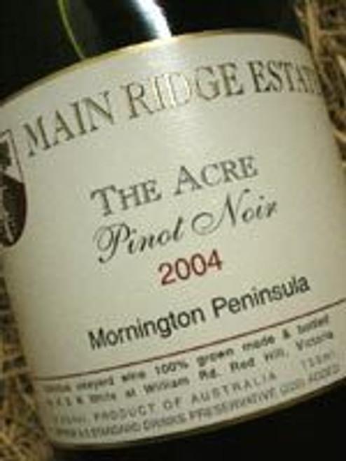 Main Ridge The Acre Pinot Noir 2004