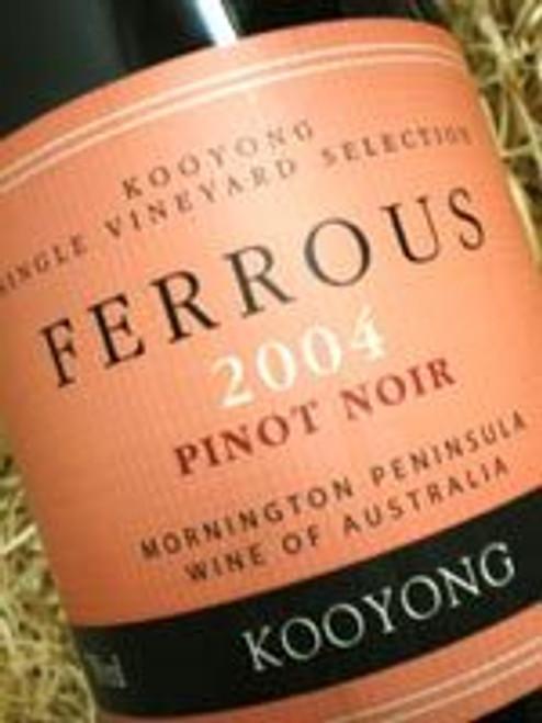 Kooyong Ferrous Pinot Noir 2004