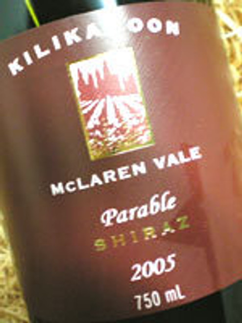 Kilikanoon Parable Shiraz 2005