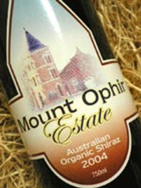 Mount Ophir Estate Organic Shiraz 2004
