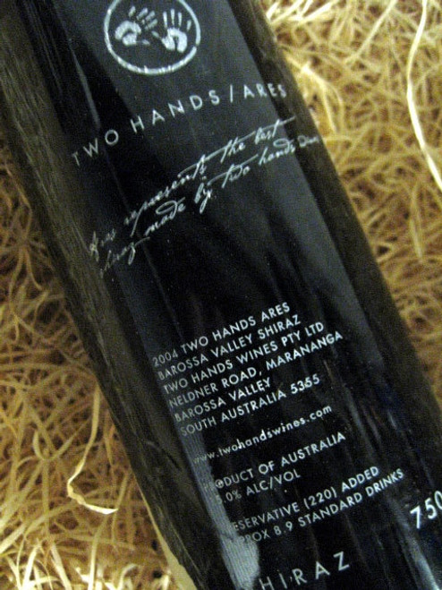 Two Hands Ares Shiraz 2004