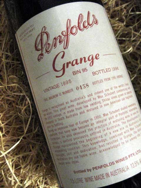 Penfolds Grange 1995 1500mL