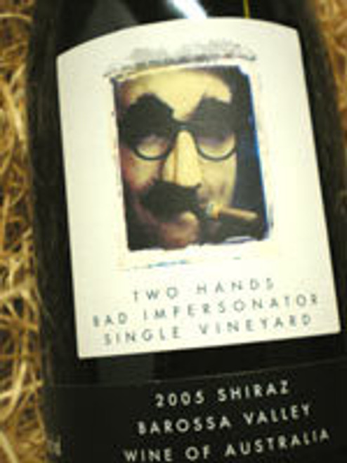 Two Hands Bad Impersonator Shiraz 2005