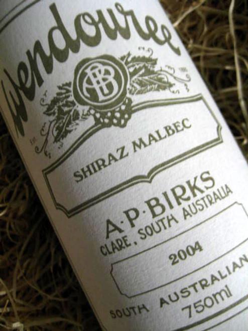 Wendouree Shiraz-Malbec 2004