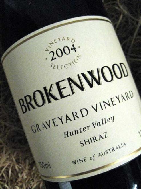 Brokenwood Graveyard Shiraz 2004