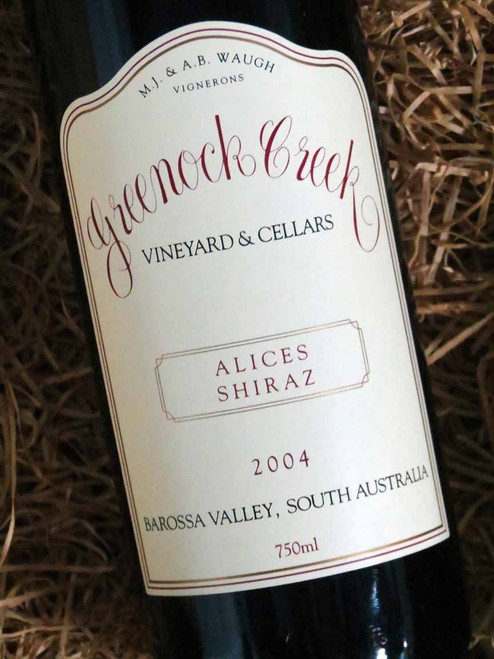 [SOLD-OUT] Greenock Creek Alices Shiraz 2004
