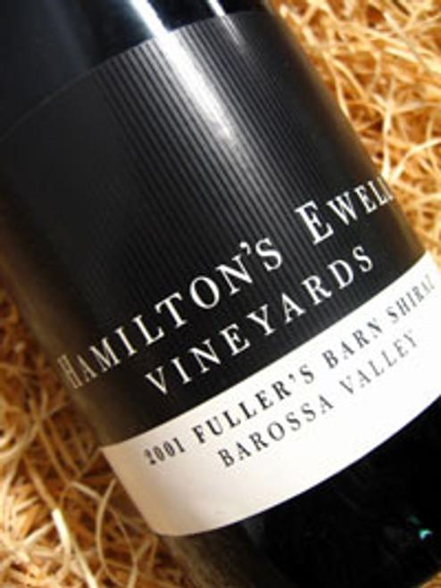 Hamiltons Ewell Fuller's Barn Shiraz 2002