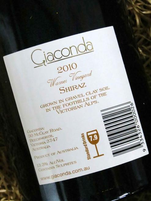 [SOLD-OUT] Giaconda Shiraz Warner Vineyard 2010