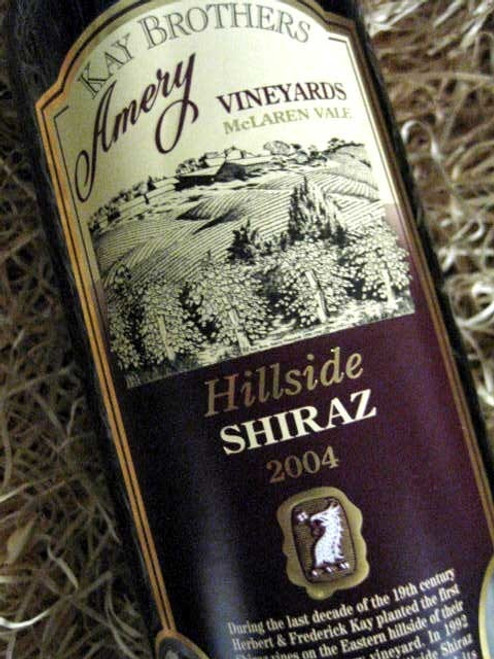 [SOLD-OUT] Kay Brothers Hillside Shiraz 2004