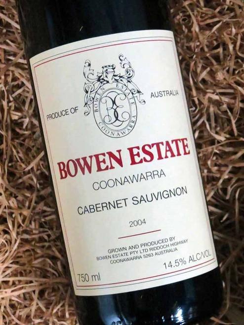 [SOLD-OUT] Bowen Estate Cabernet Sauvignon 2004