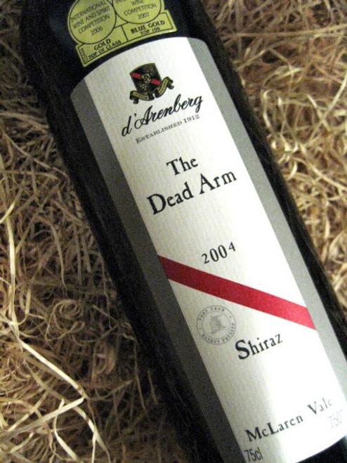 d'Arenberg Dead Arm Shiraz 2004