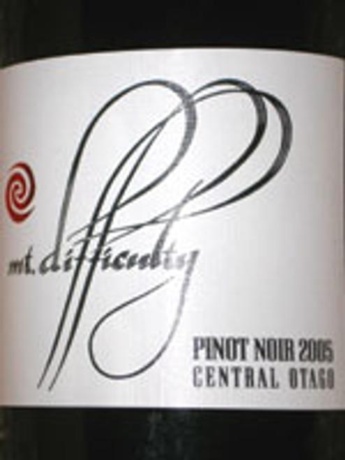 Mount Difficulty Pinot Noir 2005