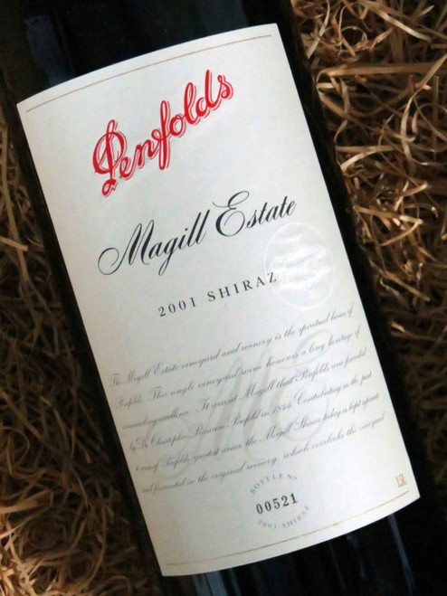[SOLD-OUT] Penfolds Magill Shiraz 2001 1500mL-Magnum