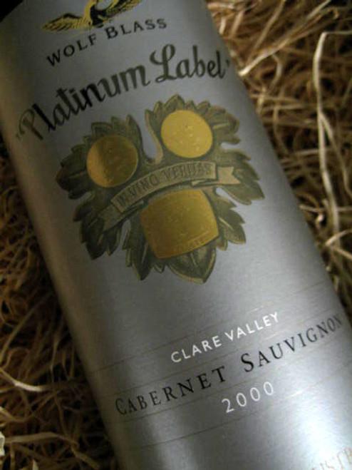 Wolf Blass Platinum Label Cabernet Sauvignon 2000