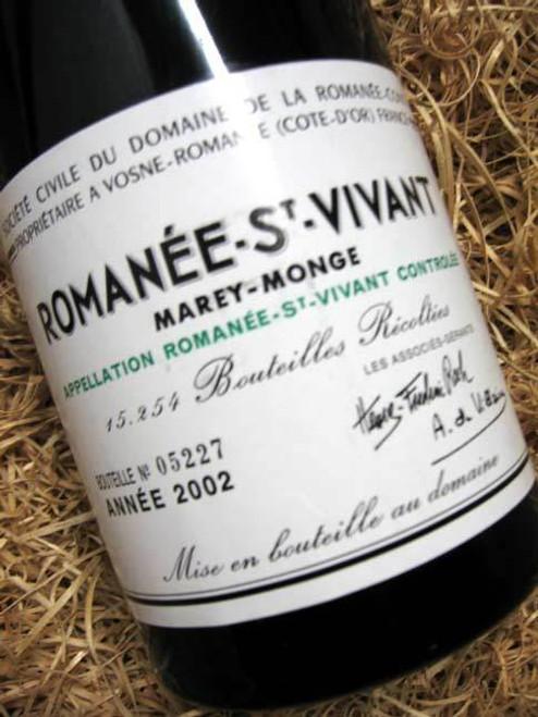 DRC Romanee St Vivant 2002