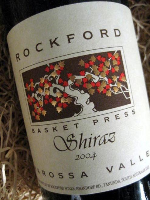 Rockford Basket Press Shiraz 2004