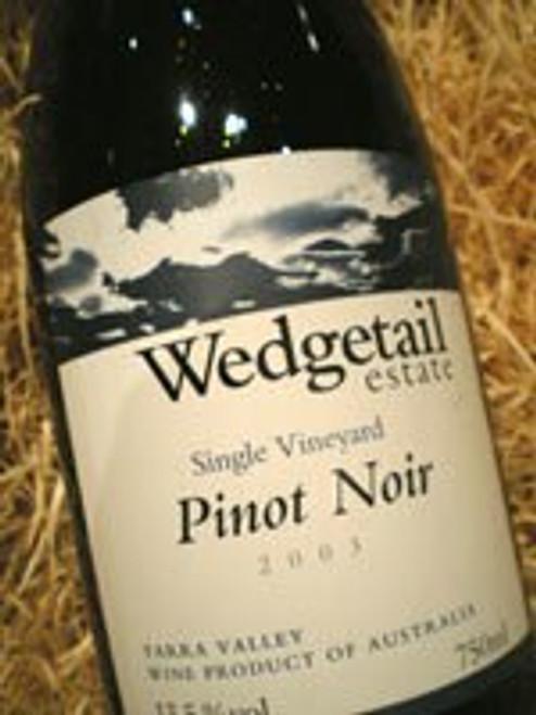 Wedgetail Estate Single Vineyard Pinot Noir 2003