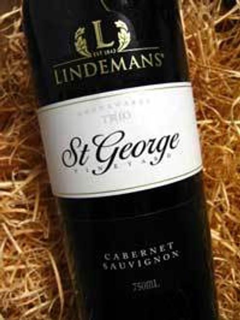 Lindemans St George Cabernet Sauvignon 1991 1500mL