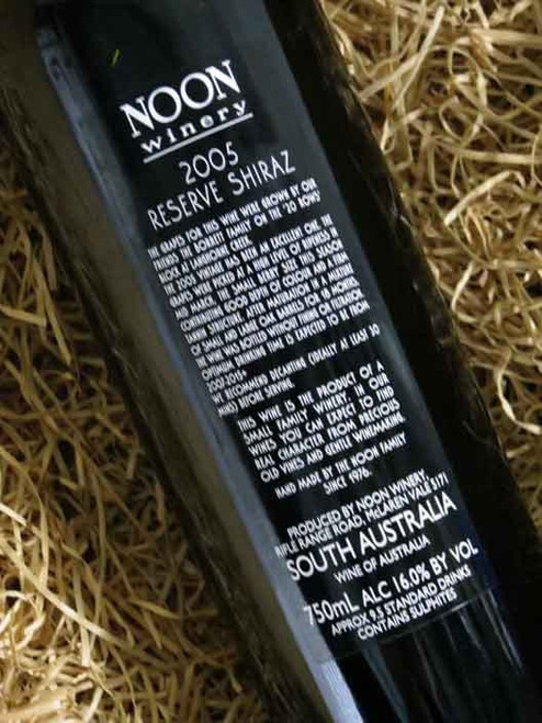 [SOLD-OUT] Noon Winery Reserve Shiraz 2005