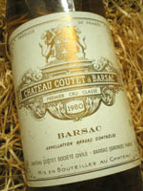 Chateau Coutet a Barsac 1980