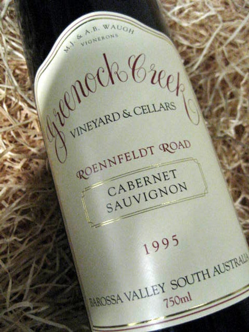 Greenock Creek Roennfeldt Road Cabernet Sauvignon 1995