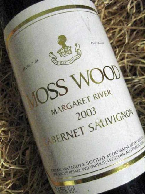 Moss Wood Cabernet Sauvignon 2003