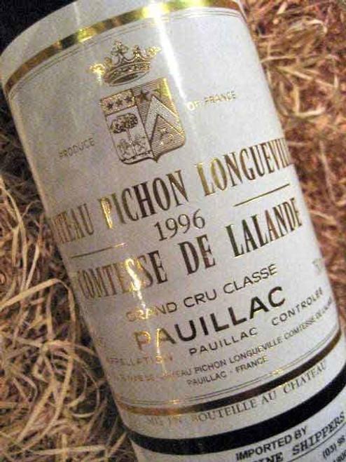 Chateau Pichon Longueville Comtesse De Lalande  1996