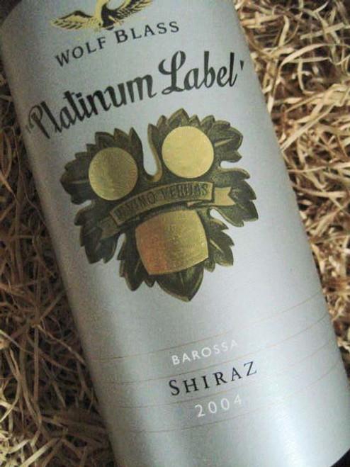 [SOLD-OUT] Wolf Blass Platinum Label Shiraz 2004 (Minor Damaged Label)