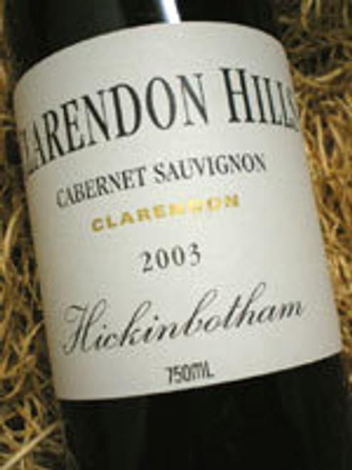 Clarendon Hills Hickinbotham Cabernet Sauvignon 2003