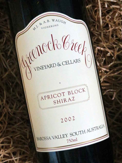 [SOLD-OUT] Greenock Creek Apricot Block Shiraz 2002