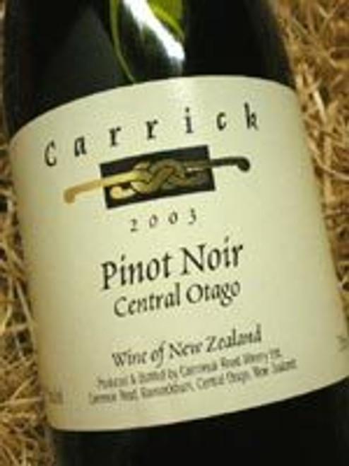 Carrick Central Otago Pinot Noir 2003