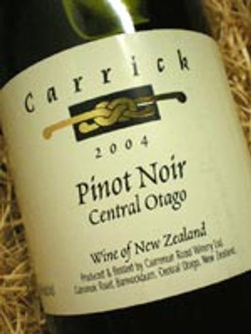 Carrick Central Otago Pinot Noir 2004