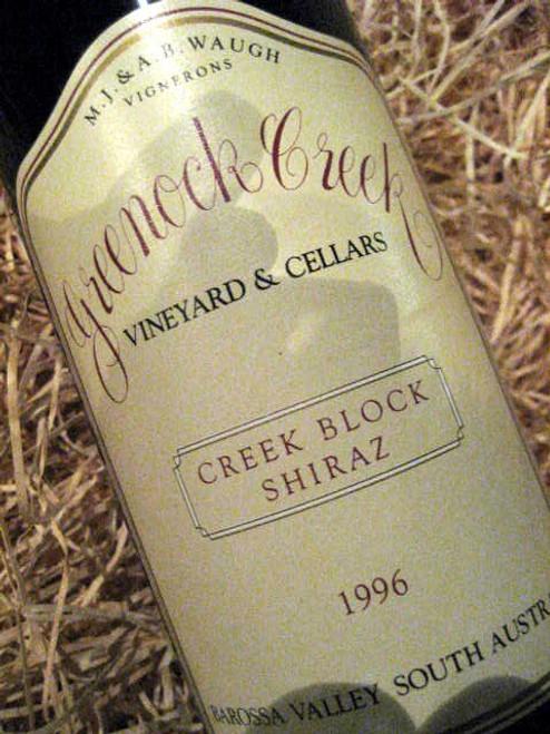 Greenock Creek Creek Block Shiraz 1996