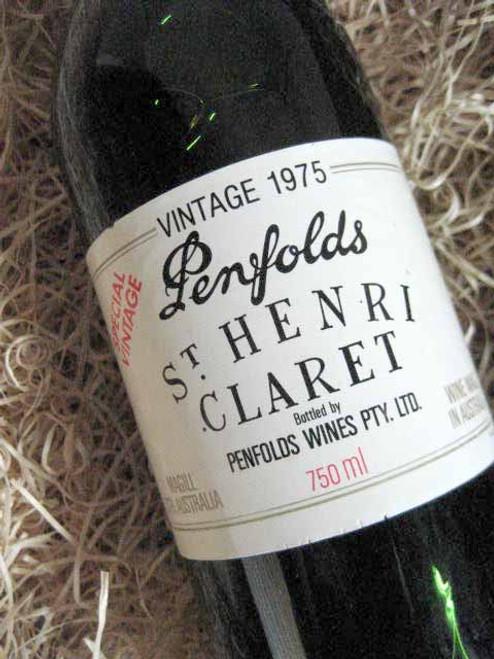 [SOLD-OUT] Penfolds St Henri 1975 (Very High Shoulder Level)