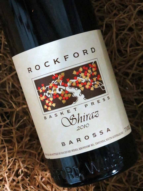[SOLD-OUT] Rockford Basket Press Shiraz 2010