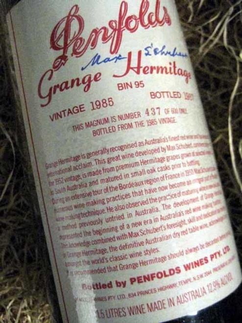 Penfolds Grange 1985 1500mL